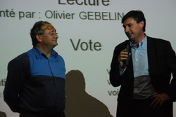 Olivier Gebelin et Pascal Gourdel