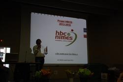 Bertrand Roux, le nouveau président du HBCN
